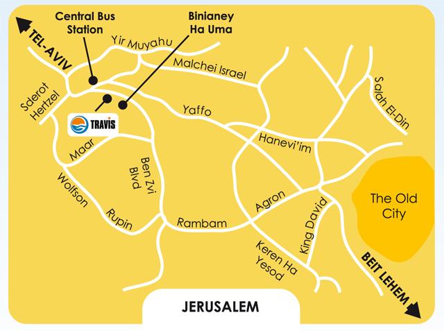 из Иерусалима,
